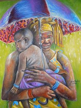 Caring Mother by Olaoluwa Smith