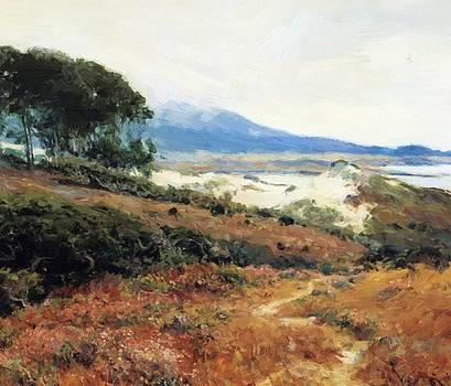 Carmel Dunes  by Guy Rose