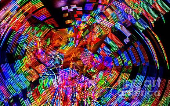 Carnival Lights by Eric Geschwindner
