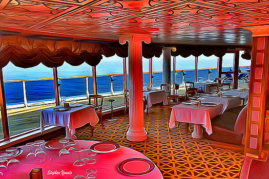 Carnival Pride David's Steak House by Stephen Younts