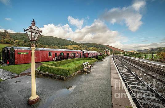 Carrog Railway Station by Adrian Evans