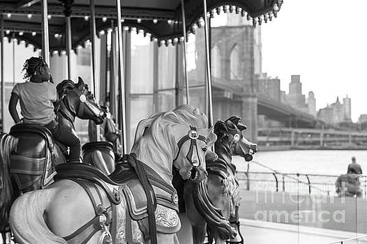 Carrousel NYC by Silvia Bruno