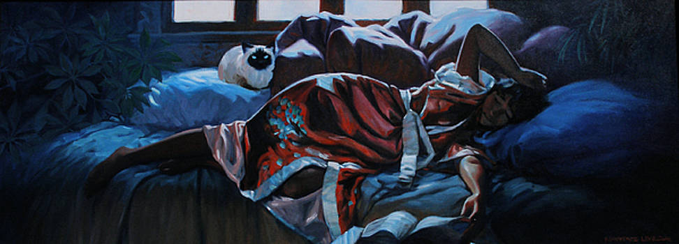 Cat Nap by Kevin Lawrence Leveque