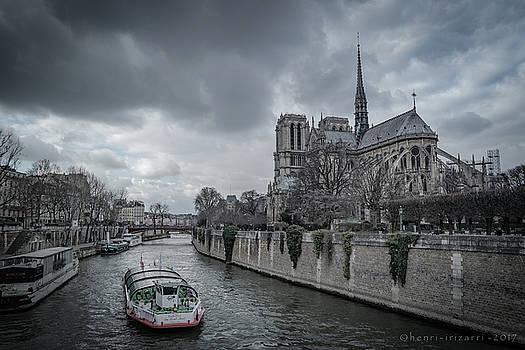 Cathedrale Notre Dame de Paris by Henri Irizarri