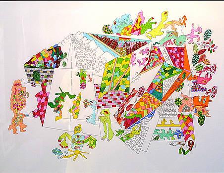 Central Park 2099 by Eric Devan