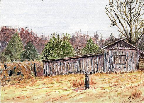 Chapel Hill Barn by Barry Jones