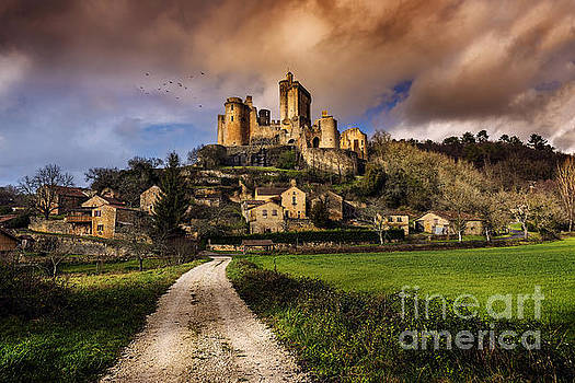 Chateau Bonaguil by Tony Priestley