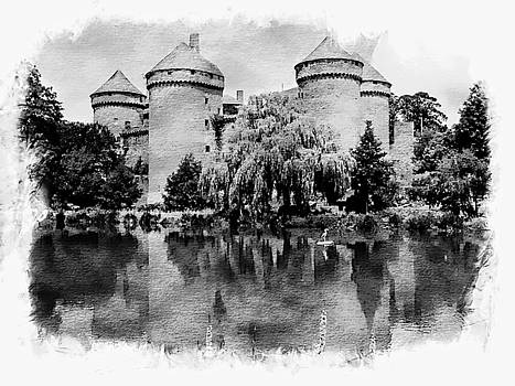 Chateau Fort Lassay - Normany, France by Joseph Hendrix