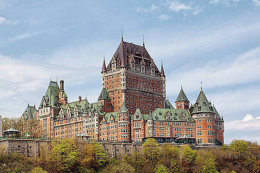 Chateau Frontenac by Eunice Gibb