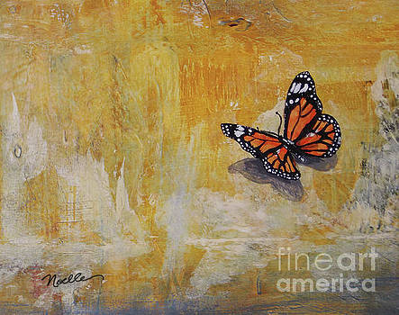 Cheerful visitor - butterfly by Noelle Rollins