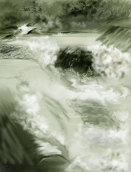 Cherry Creek White Water by Anne Norskog