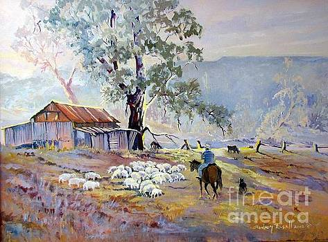Cheshunt Pastoral Victoria Australia by Audrey Russill