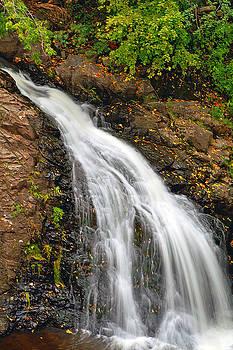 Chester Creek Falls by Bill Morgenstern