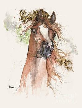 Angel Tarantella - Chestnut arabian horse
