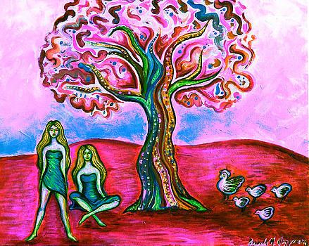 Chica's Y Pollos-Blush by Brenda Higginson