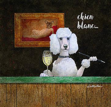 Will Bullas - chien blanc...