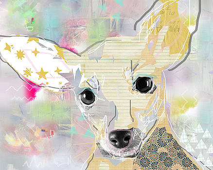 Chihuahua Collage by Claudia Schoen