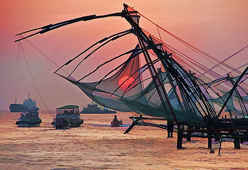 Dennis Cox WorldViews - Chinese Fishing Nets
