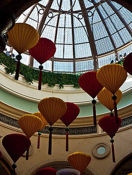 Chinese Lanterns by Rae Tucker