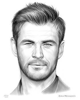 Chris Hemsworth by Greg Joens