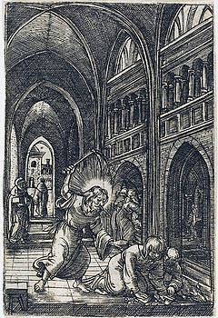 Albrecht Altdorfer - Christ Expelling the Money Changers
