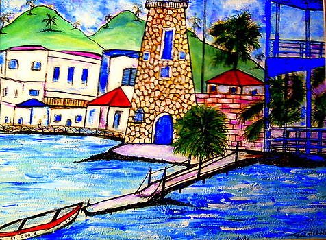 Christiansted St. Croix by Ted Hebbler