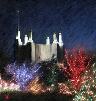 Christmas at the Temple by Geoffrey C Lewis