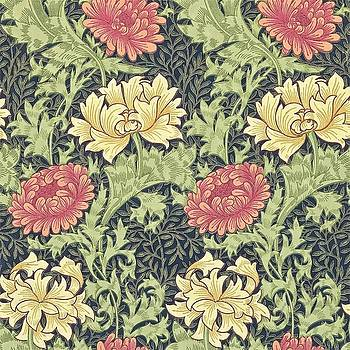 Chrysanthemum by William Morris