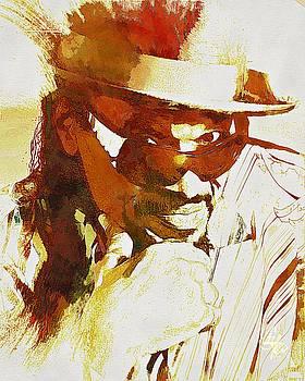 Chuck Brown by Lynda Payton