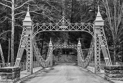 Cinderella Bridge, Millcreek Park by David Pilasky