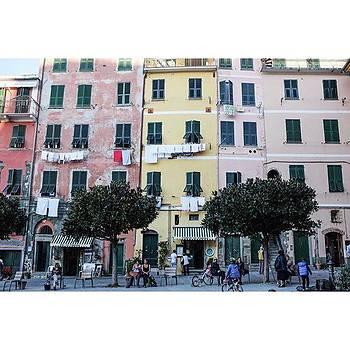 #cinqueterre #italy #italianriviera by Shauna Hill