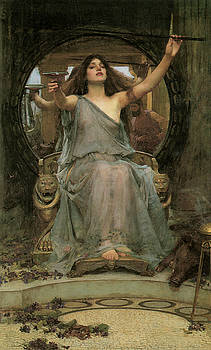 John William Waterhouse - Circe offering the Cup to Ulysses
