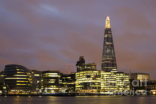 City of London on Thames by Deyan Georgiev