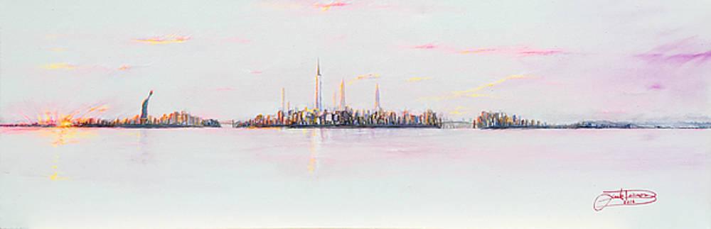 City Sunset by Jack Diamond