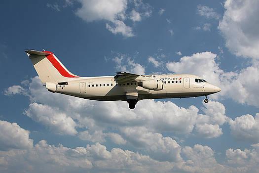 CityJet Avro RJ85 by Nichola Denny