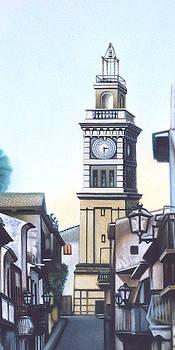Civic Tower of Sommatino by Ismaele Alongi