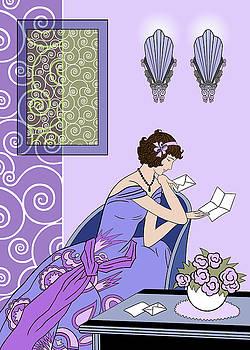 Nancy Lorene - Clarice - Cool Purples