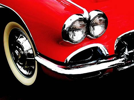 Classic Corvette by Angela Davies