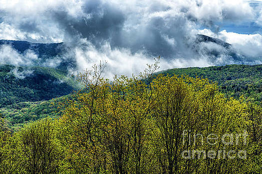 Clearing Storm Highland Scenic Highway by Thomas R Fletcher