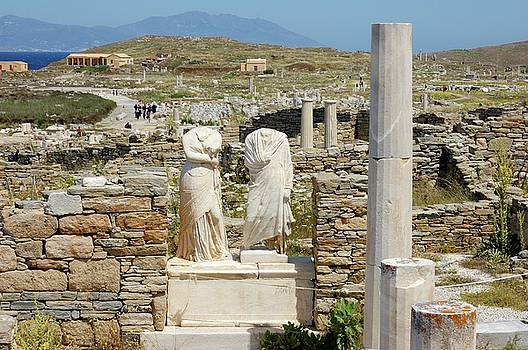 Cleopatra and Dioscoride by Yuri Hope
