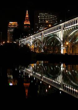 Cleveland Skyline by Brian M Lumley