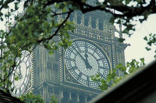 Clock Face of Big Ben by Carl Purcell