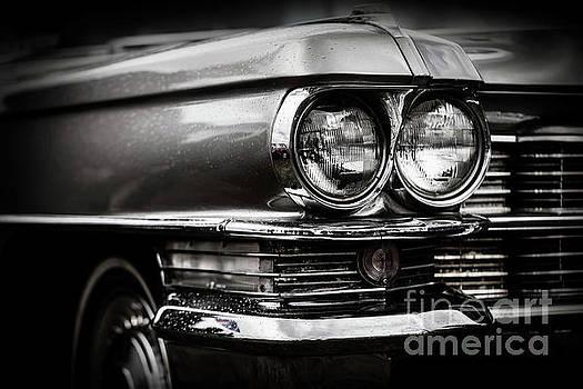 Michal Bednarek - Close up detail of restored classic American car.