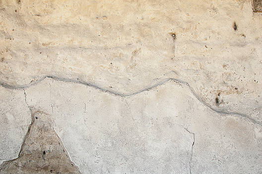 Close-up of an old adobe wall texture by Bradley Hebdon