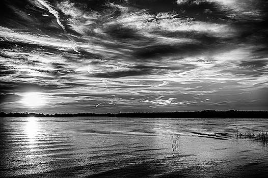 Clouds and Sunset by Doug Long