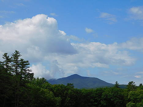 Clouds Over Mt Ascutney by Catherine Gagne