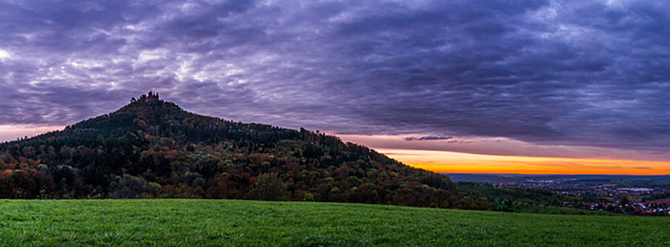 Clouds over the Hohenzollern Castle by Dmytro Korol