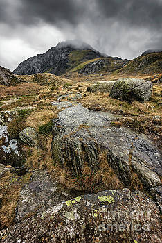 Clouds Over Tryfan by Adrian Evans