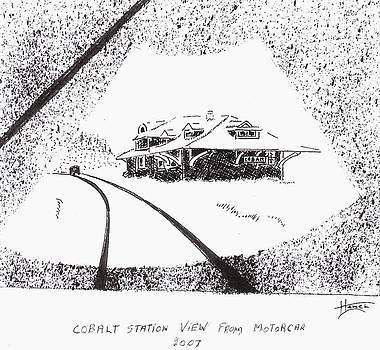 Cobalt Station by Peter Hamel