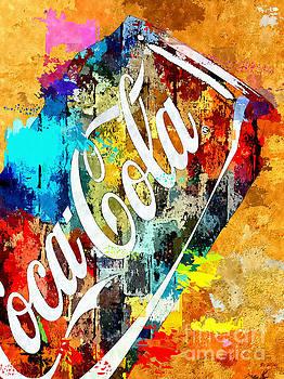 Coke Grunge by Daniel Janda